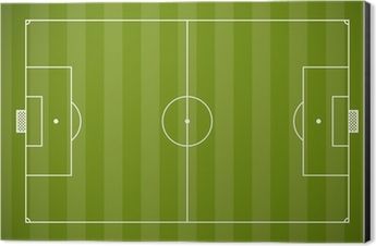 Soccer field lining vector template Sticker • Pixers® • We live to ...