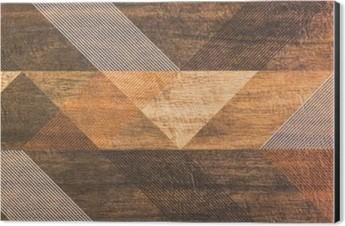 tiles with geometric shapes Aluminium Print (Dibond)