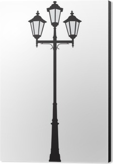 An Old Fashioned Street Lamppost