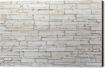 white stone tile texture. White Stone Tile Texture Brick Wall Aluminium Print  Dibond Mural Pixers We live