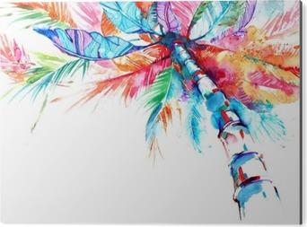 Aluminium Print Palm