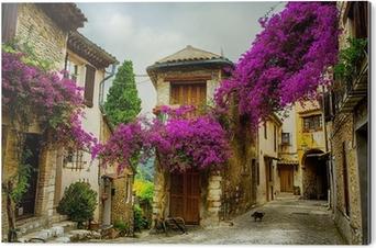 Aluminiumtavla Konst vackra gamla staden Provence