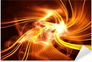 Pixerstick Aufkleber 3d art Hintergrund