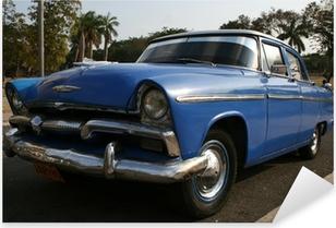 Pixerstick Aufkleber 50er amerikanisches Auto in Kubap