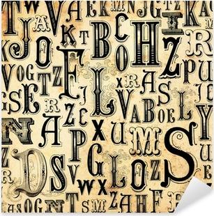 Aufkleber Alphabet • Pixers® - Wir leben, um zu verändern
