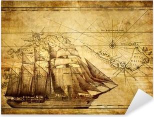 Pixerstick Aufkleber Abenteuer Geschichten - Jahrgang Hintergrund