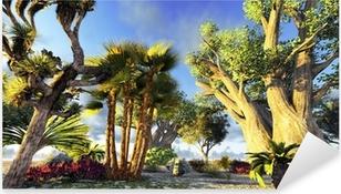 Pixerstick Aufkleber Afrikanischen Affenbrotbäume