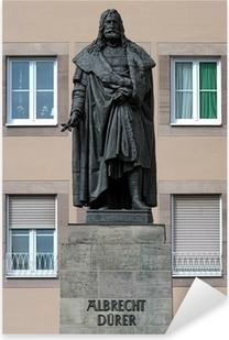 Pixerstick Aufkleber Albrecht Durer Monument in Nuremberg, Germany