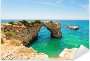 Pixerstick Aufkleber Algarve Strand - Algarve Strandp