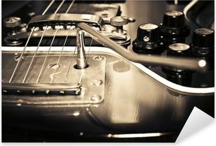 Pixerstick Aufkleber Alte Gitarre
