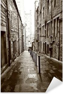 Pixerstick Aufkleber Alte Straßen von Edinburgh