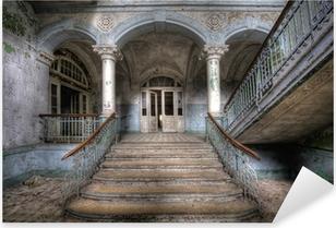 Pixerstick Aufkleber Alte Treppe in Beelitzp