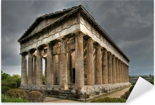 Pixerstick Aufkleber Alter Tempel des Hephaistos, Athen
