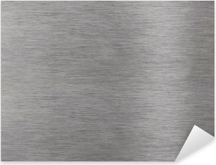 Pixerstick Aufkleber Aluminiumoberfläche