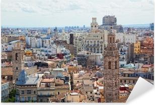 Pixerstick Aufkleber Angesichts der historischen Zentrum von Valenciap