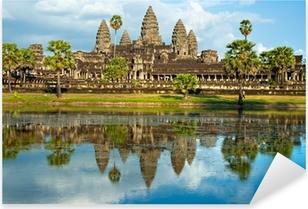 Pixerstick Aufkleber Angkor Wat, Siem Reap, Kambodscha.