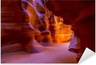 Pixerstick Aufkleber Antelope Canyon Arizona auf der Navajo-Land nahe Seitep