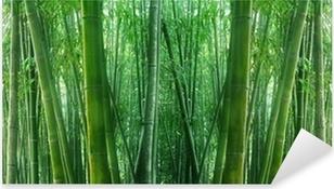 Pixerstick Aufkleber Asian Bamboo