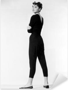 Pixerstick Aufkleber Audrey Hepburnp