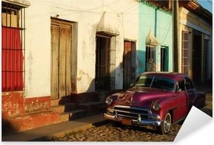 Pixerstick Aufkleber Auto in Kuba