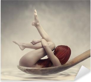 Pixerstick Aufkleber Beauty Bathp