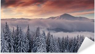 Pixerstick Aufkleber Berg