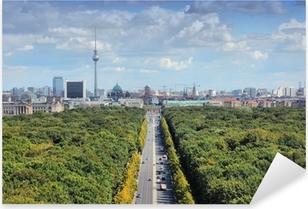 Pixerstick Aufkleber Berlin-Skyline mit Tiergarten