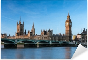 Pixerstick Aufkleber Big Ben London Englandp