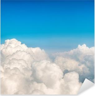 Pixerstick Aufkleber Blaue Wolken und Himmel.