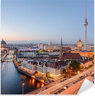 Pixerstick Aufkleber Blick über berlin