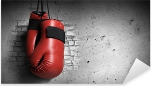 Pixerstick Aufkleber Boxhandschuhe