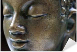 Pixerstick Aufkleber Buddha Nahaufnahme Porträt