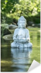 Pixerstick Aufkleber Buddha und Soziales