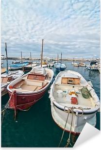 Pixerstick Aufkleber Capri Boote.