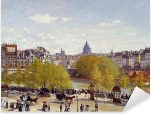 Pixerstick Aufkleber Claude Monet - Quai du Louvrep