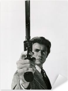 Pixerstick Aufkleber Clint Eastwood