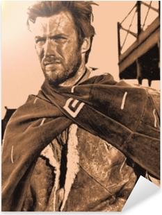 Pixerstick Aufkleber Clint Eastwoodp