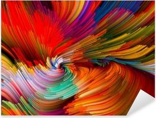 Pixerstick Aufkleber Color Vortex Compositionp