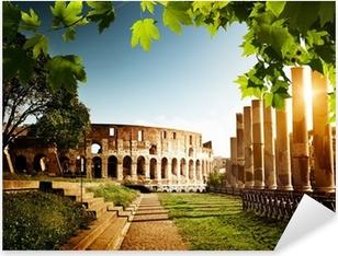 Pixerstick Aufkleber Colosseum in Rom, Italienp