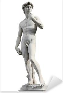 Pixerstick Aufkleber David von Michelangelo
