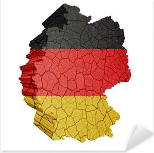 Pixerstick Aufkleber Deutschlandkarte
