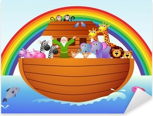 Pixerstick Aufkleber Die Arche Noah