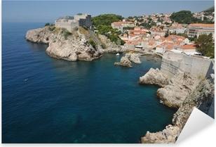 Pixerstick Aufkleber Die Lovran Kroatien nach Dubrovnik über Zadar