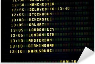 Pixerstick Aufkleber Dublin-Zeitplan