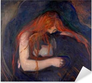 Pixerstick Aufkleber Edvard Munch - Vampir