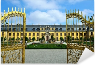 Pixerstick Aufkleber Eingangsportal Schloss Herrenhausen, Hannoverp