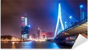 Pixerstick Aufkleber Erasmus Brug Rotterdam