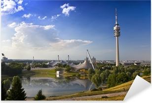 Pixerstick Aufkleber Fernsehtum von München im Olympiaparkp