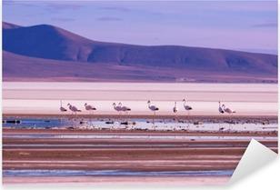 Pixerstick Aufkleber Flamingo