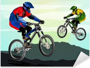 Pixerstick Aufkleber Freestyle Mountainbike